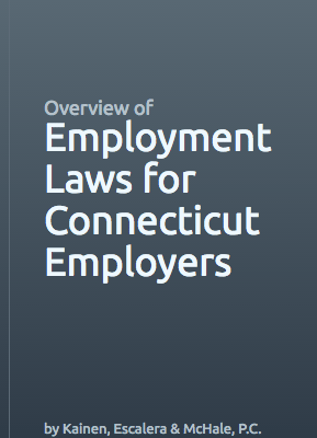 A picture of employer guide for employment laws for CT employers