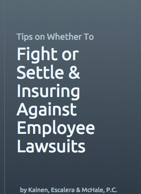 Cover of Employment Law Ebook