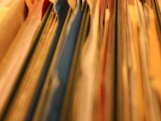 Employee record files