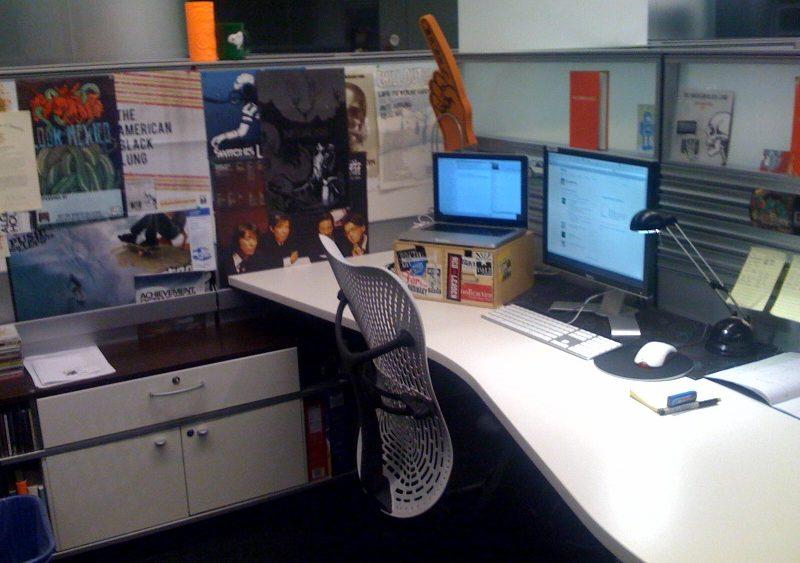 Empty workspace