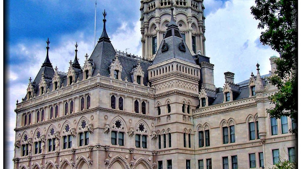 Capitol building in Hartford, CT
