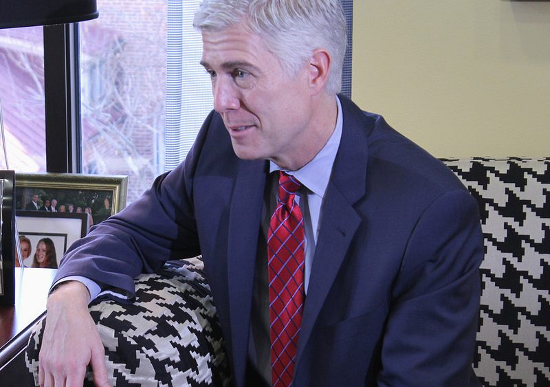 Trump nominee for the U.S. Supreme Court, Neil Gorsuch