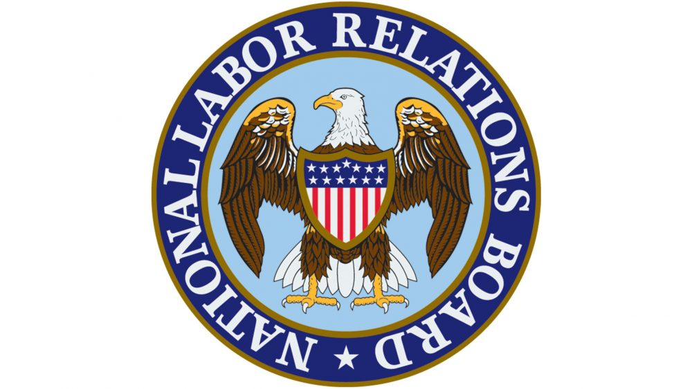 National Labor Relations Board logo