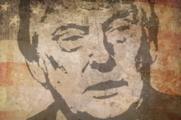 Drawing of Donald Trump