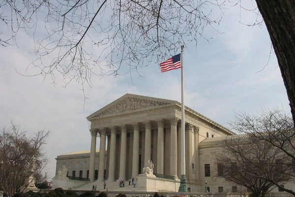 Photo of Supreme Court building