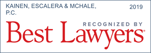 Best Lawyers Badge 2019 Kainen Escalera & McHale