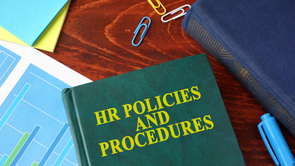 Book about HR policies and procedures