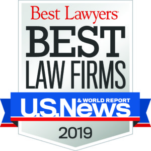 Best Lawyers Best Law Firms 2019 Badge