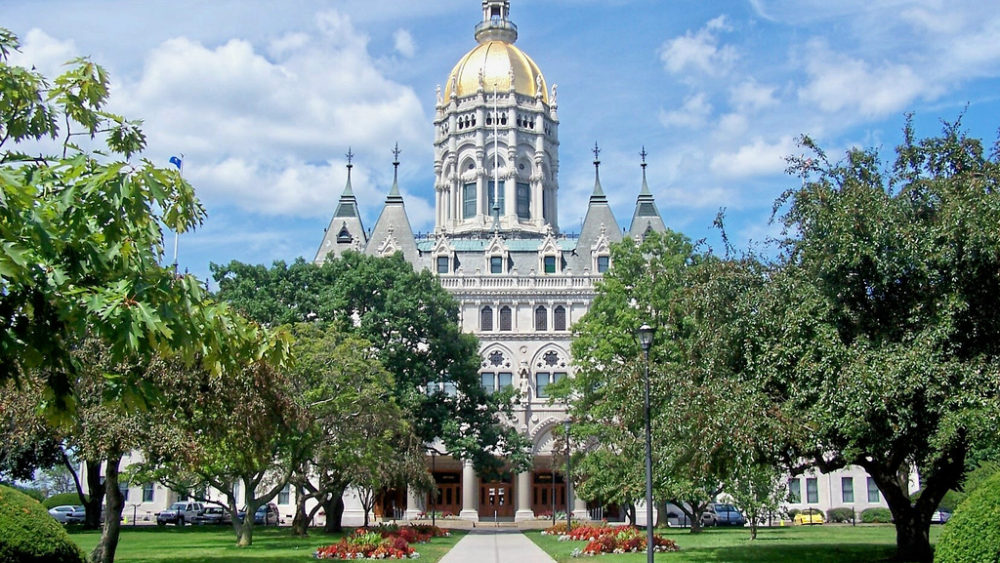 Hartford, Connecticut capitol building
